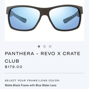 NEW IN BOX - Revo Panthera Polarized sunglasses